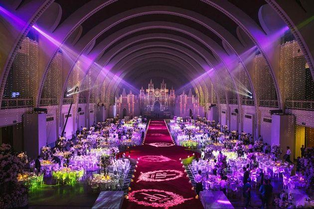 Foto Tempat Pernikahan Huang Xiaoming dan Angelababy Digelar
