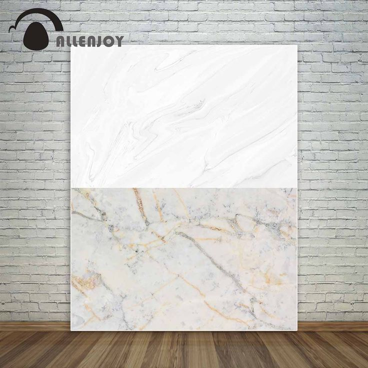 Allenjoy white marble and nature color marble two in one for baby for objects backdrop for a photo shoot fond studio photo