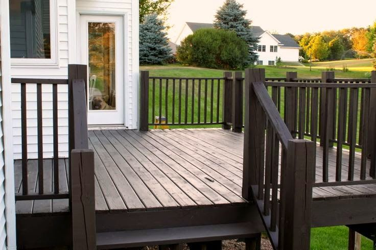 The 25 Best Stained Decks Ideas On Pinterest Outdoor Wood Stain Patio Pictures And Patio