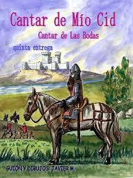 """""""Campeador que en bendita hora ceñiste la espada, el rey lo ha vedado, anoche a Burgos llegó su carta, con severas prevenciones y fuertemente sellada. No nos atrevemos, Cid, a darte asilo por nada, porque si no perderíamos los haberes y las casas"""
