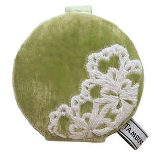 Bright, bold and very fashion forward this mirror is available in a wide range of fabulous summery colours and is quite simply, the cutest reflection in style.