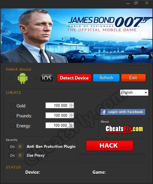 James Bond World of Espionage Hack
