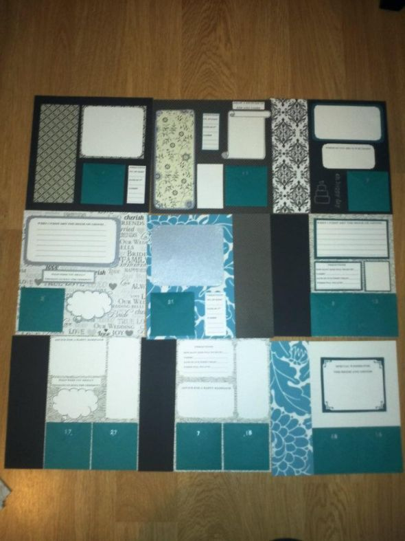 scrapbook guest book!!!!  Found on Weddingbee.com Share your inspiration today!