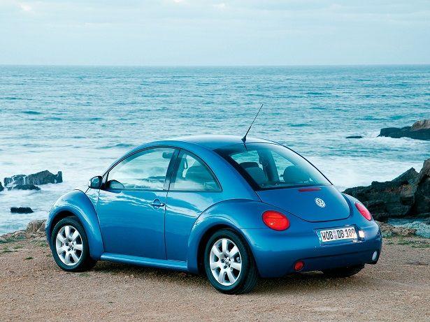 Volkswagen New Beetle (1998 – 2005).
