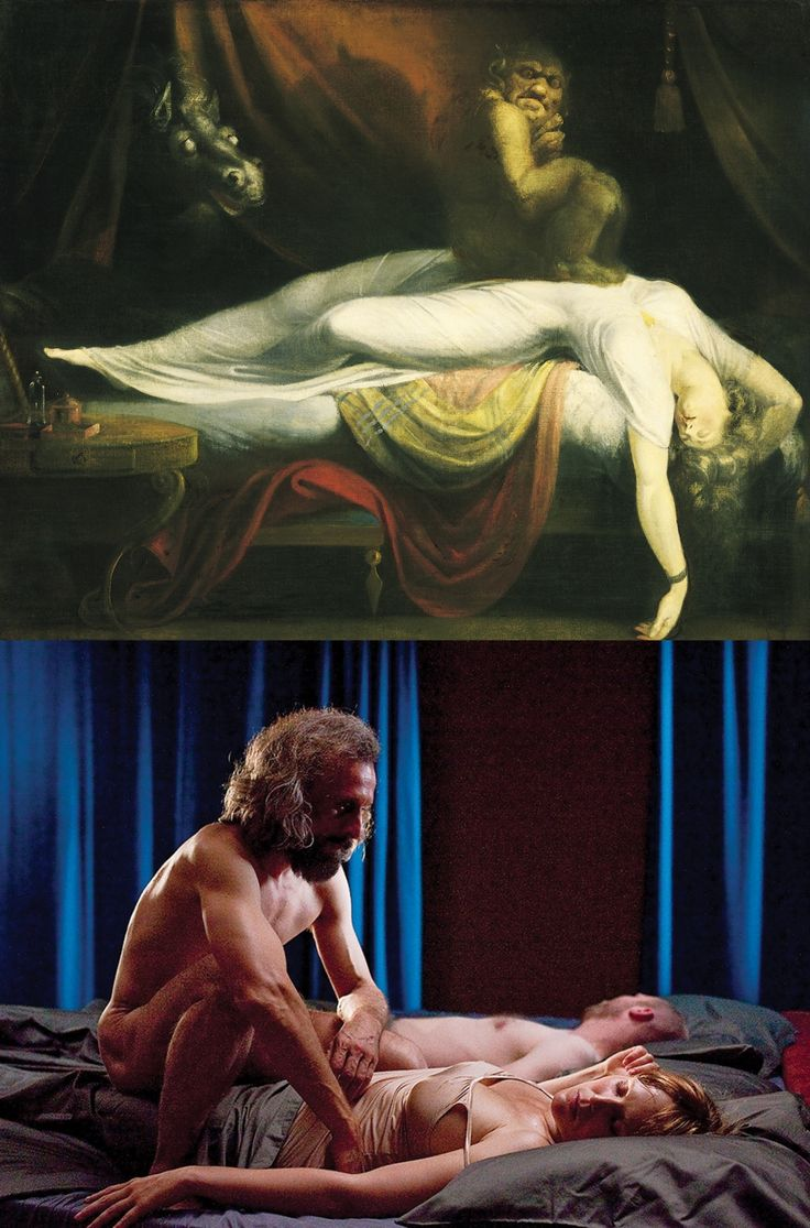 The Nightmare- Henry Fuseli (1781) Borgman- Alex van Warmerdam (2003)