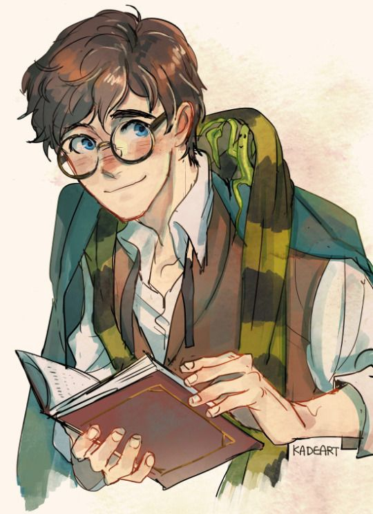 Nerd+Cute = Newt  by kadeart -Fantastic Beasts and Where to Find Them #harrypotter