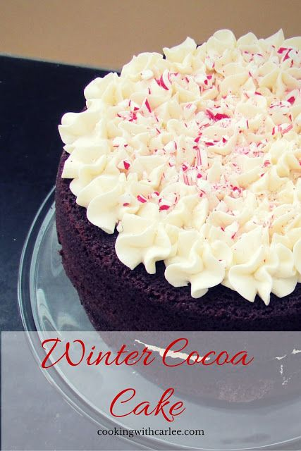 Cooking with Carlee: Winter Cocoa Cake