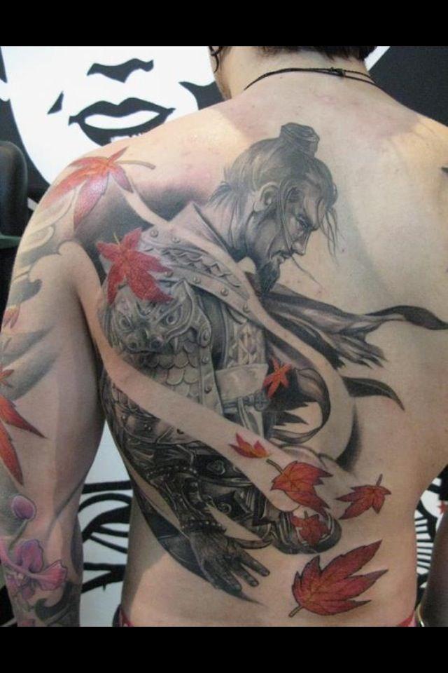Samurai tattoo | Angel Tattoos Japanese Tattoos Pin Up Tattoos Superhero Tattoos Tattoo ...