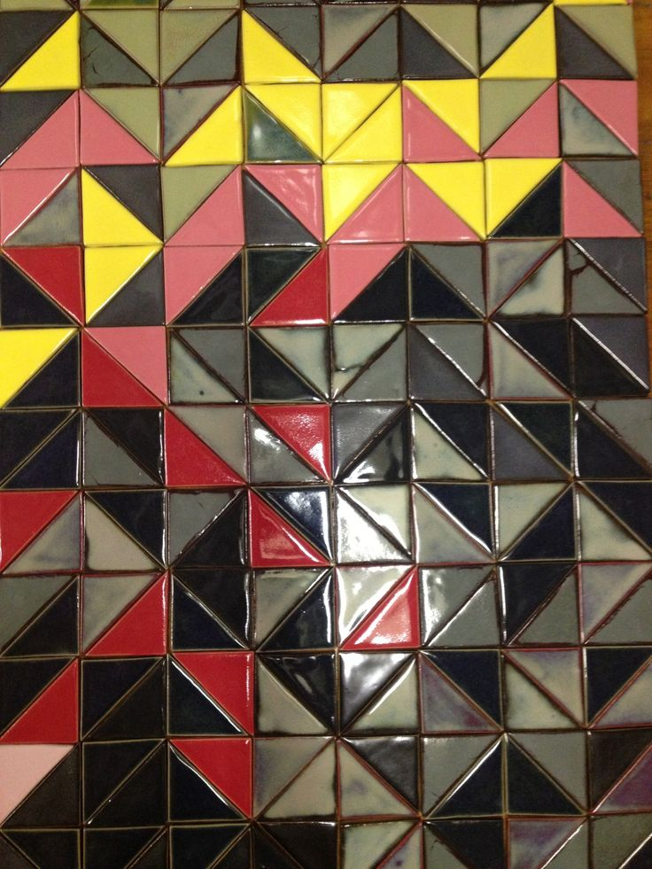 Half-Square handmade tiles. Official project for World Design Capital Cape Town 2014