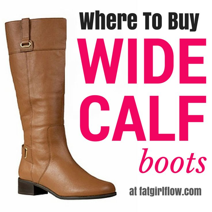 The wide calf boot struggle is too real. Here's a list WITH PICTURES to help make shopping for wide calf boots a little easier!