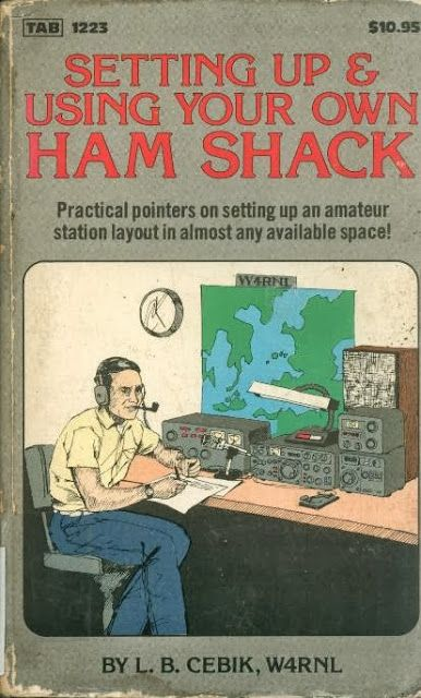 Ham Shack Library, didn't know the author but do have a letter from him concerning one of his late articles in QST. He was a good resource for antenna construction info. Still maintain on a memorial website.