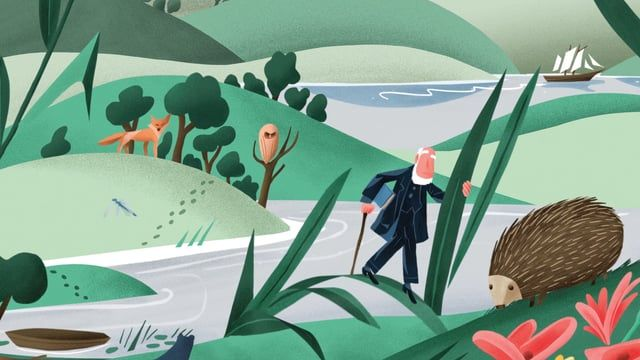 """The full 8 animations for Aesop's """"Pursuits of Passion"""" website. Each animation explores a noted naturalist, to coincide with each of Aesop's new gift kits, featuring beautiful illustrations by Norwegian Artist Bendik Kaltenborn. An absolute joy to work on such a beautiful project for such a celebrated company.   To see the animations in situ, please visit Aesop's """"Pursuits of Passion"""" website: http://www.aesop.com/usa/pursuitsofpassion  Animation: Bobby Dazzler Illustration: Bendik Kal..."""