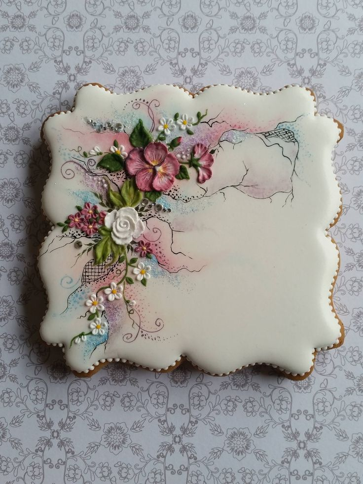 17 Best images about Decorated Floral Cookies on Pinterest ... - photo#29