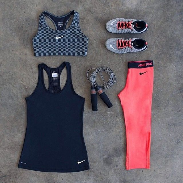 New workout clothes! Great Motivation! Tip- try to only wear them when working out, so that you don't associate then with lazy ness and only with working out! #workoutclothes #newworkoutclothes #tips #workout #ideas #recipes #tricks