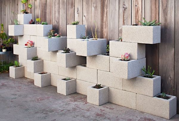 Due to a plant-loving mother and a truckload of cinder blocks in our backyard, this may actually happen at some point in time.