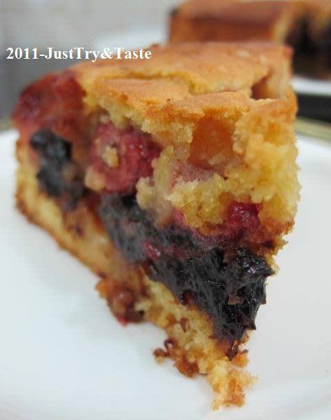 Just Try & Taste: Cake Buah Segar: Fresh Fruits Cake