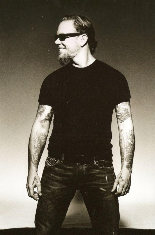 James Hetfield  Yes I love him!!