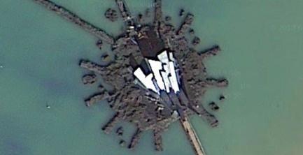 'Catching Fire's' Cornucopia revealed thanks to Google Maps' satellite view