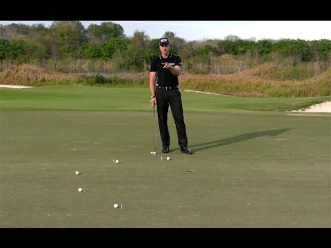 Defending Open Champion Henrik Stenson shares his go-to putting drill, the Spiral where you place balls 3, 4, 5, 6, & 7 feet from the hole and must make them all to complete the drill. #TipTuesday #GolfTip