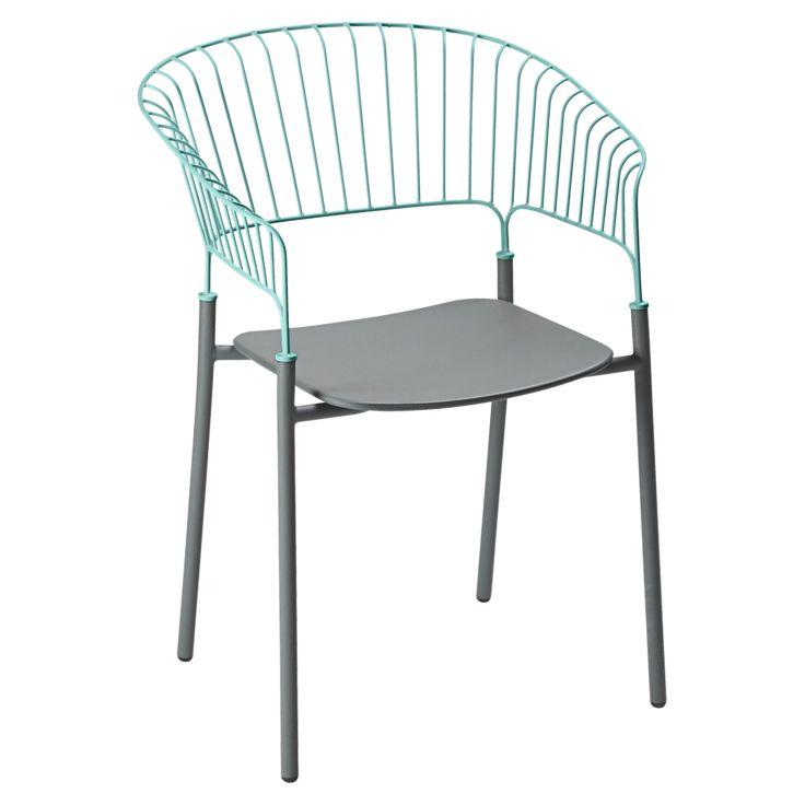 Sessel Odéon, Gartenstühle Aus Metall, Design Gartenmöbel