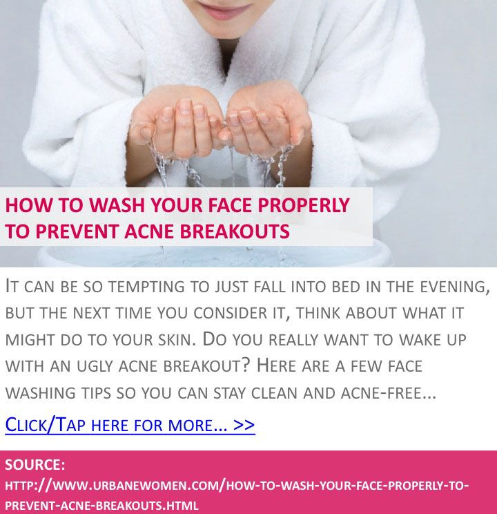 how to clean up acne on face