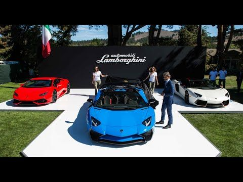 2016 Lamborghini Aventador LP 750 4 Superveloce Roadster - YouTube