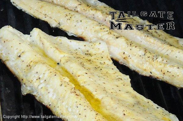 Grilled Northern Pike Fillet. but I'd add some garlic