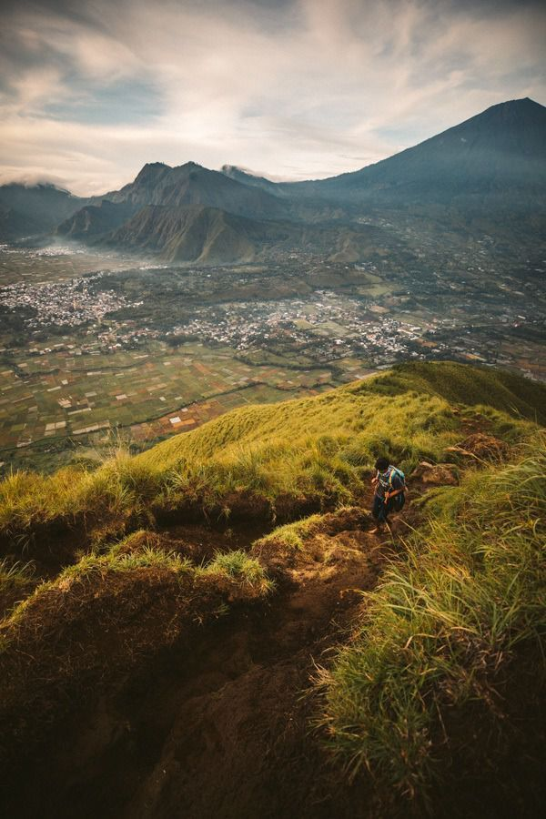 TREKKING & CAMPING ON PERGASINGAN HILL IN NORTH LOMBOK