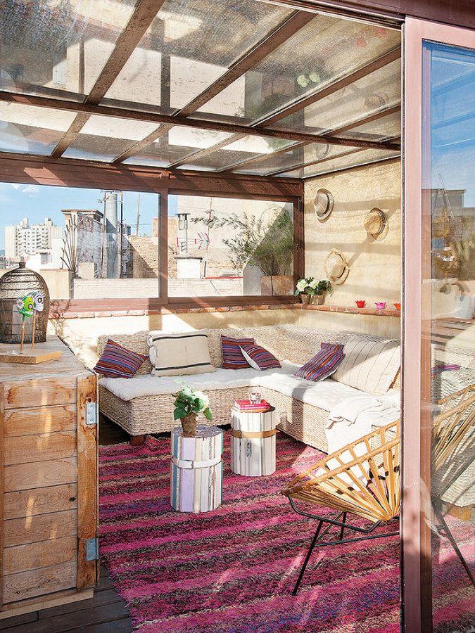 ↠ Especial #terrazas 2016 Terrazas que... cobijan tu vida al EXTERIOR #decoración
