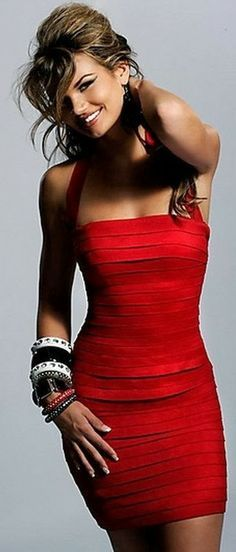 Lovely red dress