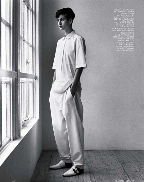 Vogue UK April 2013  Model: Athena Wilson