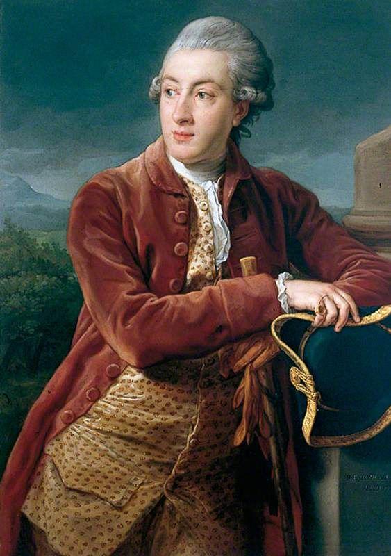 """""""John Smyth of Heath Hall, Yorkshire"""", Pompeo Batoni, 1773; YMT YORAG : 1482"""