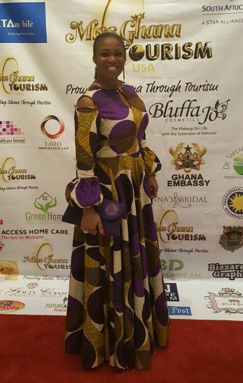 African Print forme et Flare robe Maxi. Poches à par NanayahStudio