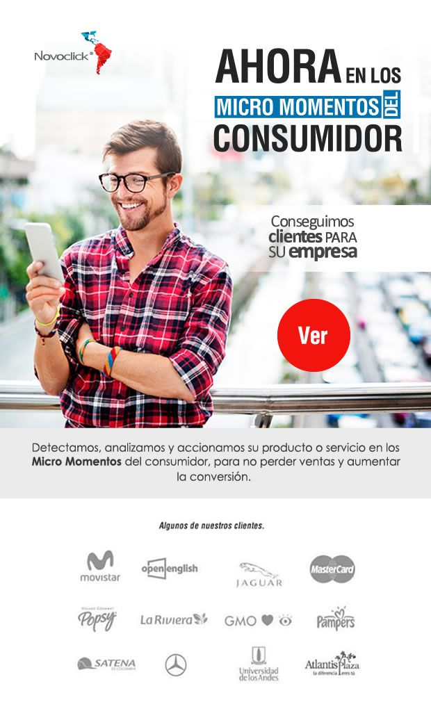 #NOVOCLICK ahora en los micro momentos del consumidor