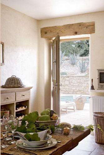 Fresia blanca: Una casa en un molino antiguo