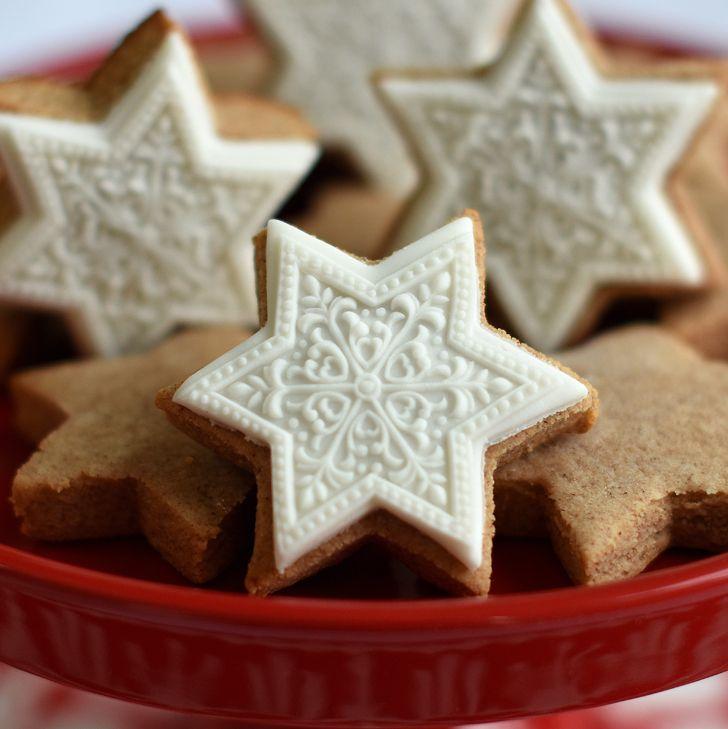 Zimtsterne Springerle Cookies Recipe Special Treats Cinnamon