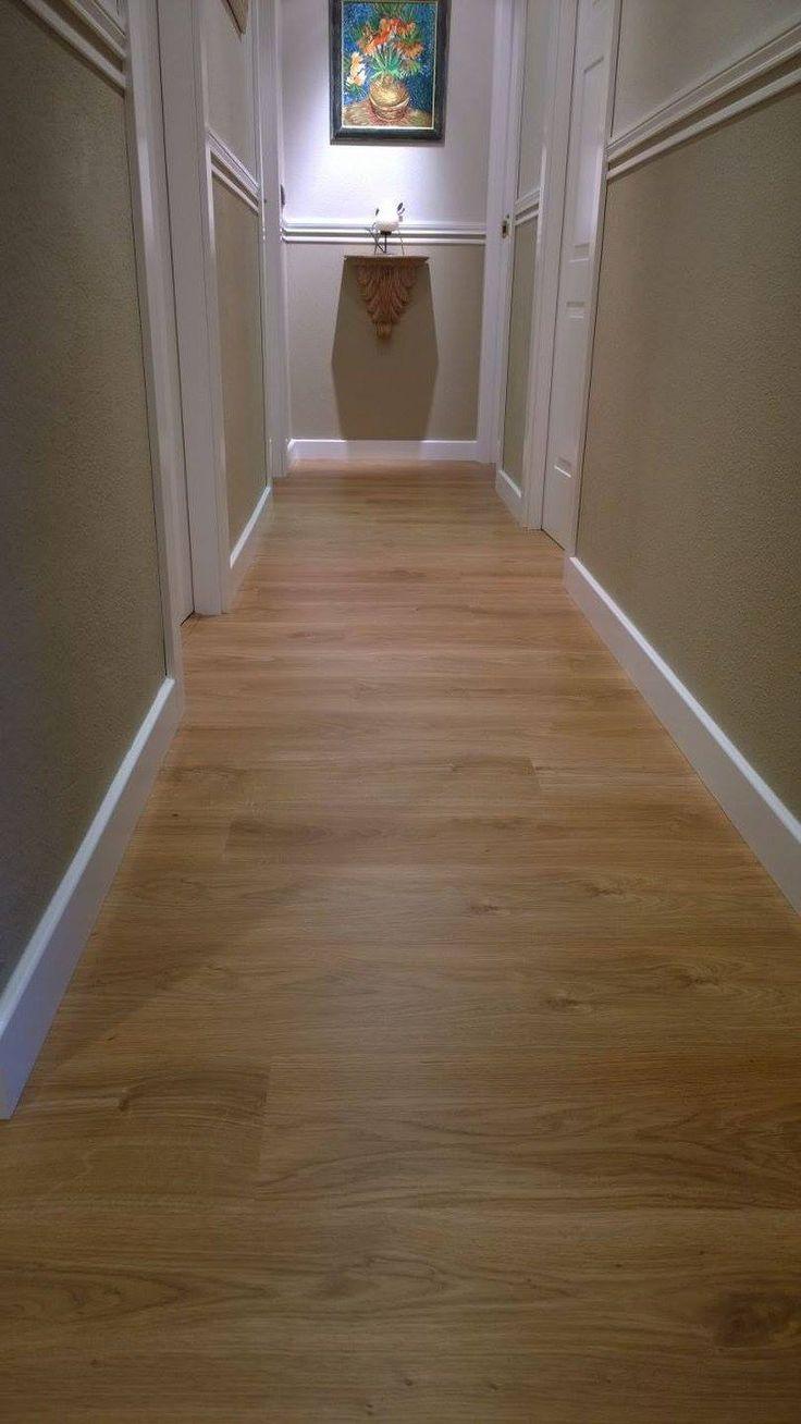 Detalle Pergo, Roble Natural 1 lama (Living Expresion Natural Oak, con lama de 8 mm de espesor)  con garantía 25 años uso doméstico