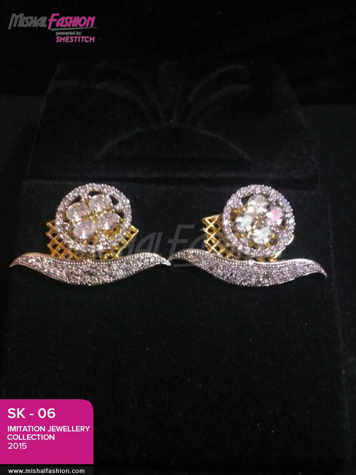7 best Designer Jewelry Ear Tops Collection images on Pinterest