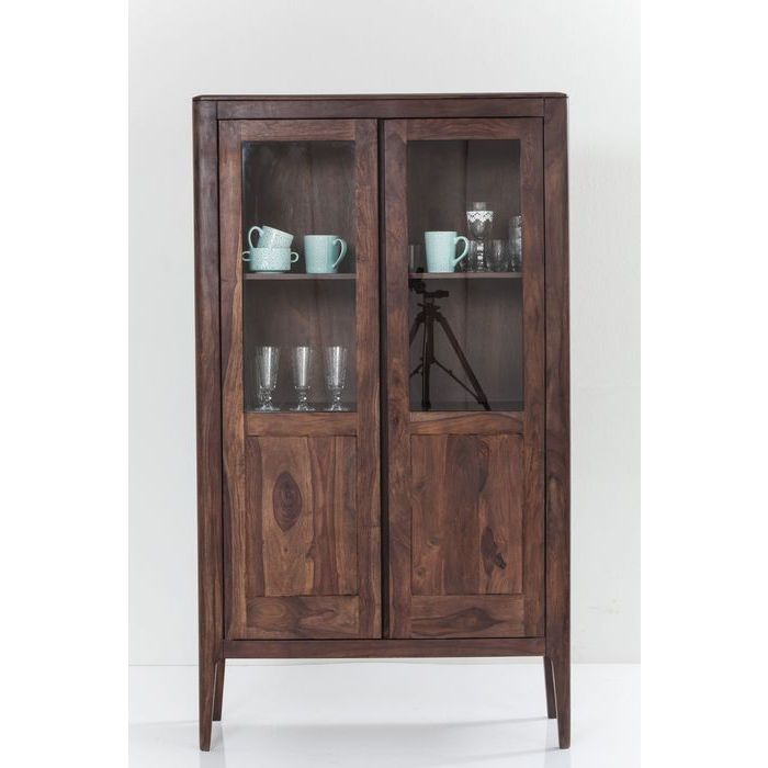 Brooklyn Walnut Display Cabinet 2 Doors - KARE Design