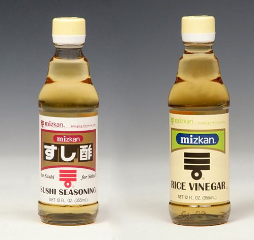 How to make the sushi rice vinegar.  Can be stored.  Mizkan Rice Vinegar and Mizkan Sushi Seasoning Three Sushi Boards  http://pinterest.com/claraliew/sushi-bento-other-asian-yummy-food-yumyum3/ http://pinterest.com/lxmskitz/sushi-ya-lovers-3/ http://pinterest.com/iamasiamesegirl/sushi-lover-and-japanese-foods/