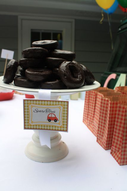 """Photo 12 of 24: Vintage Cars and Trucks / Birthday """"Carter's 2nd Birthday"""" 