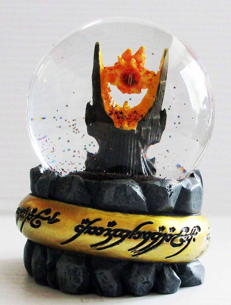 Map For Lord Of The Rings%0A Amazon com  The Lord of the Rings Eye of Sauron Snow Globe