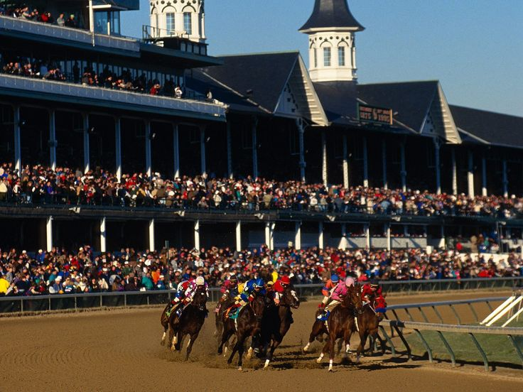 Churchill Downs. The home of the Kentucky Derby.