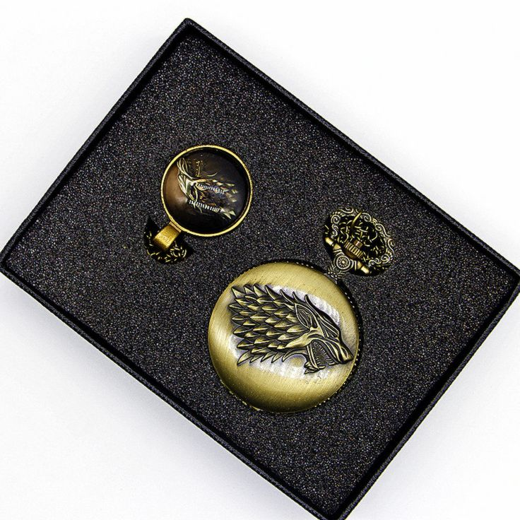 House Stark Bronze Pocket Watch //Price: $15.49 & FREE Shipping //     #stark #aryastark