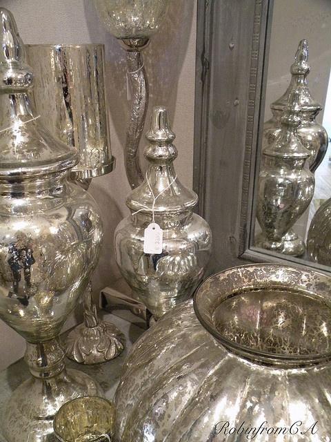 Mercury Glass--Love.