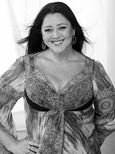 Camryn Manheim (born March 8, 1961) is an American actress known primarily for her roles as attorney Ellenor Frutt on ABC's The Practice, Delia Banks on CBS's Ghost Whisperer and as Elvis's mother, Gladys Presley in the 2005 mini-series Elvis.