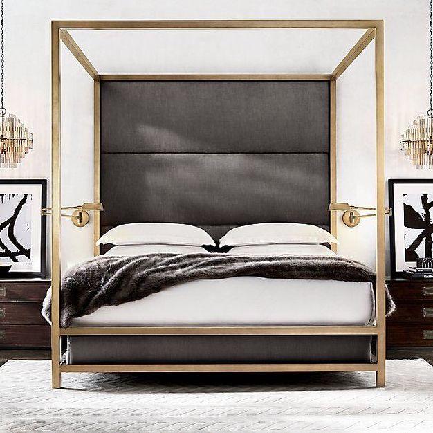 Evgeniya Kuznetsova в Instagram: «Считаю, что #кровать с балдахином, потрясающее изобретение! #спальная благодаря такой кровати, сразу преобразится. Эта #мебель выступает в…»
