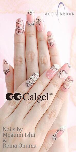 33 best calgel images on pinterest events holidays and nail art calgel nail art prinsesfo Gallery