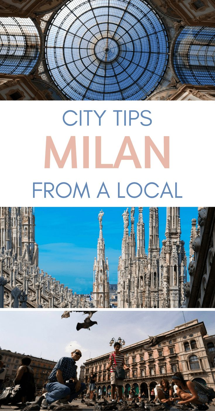 Milan City Tips from a Local - The Best Things to do in Milan Italy According to a Local Travel Blogger via @WanderTooth