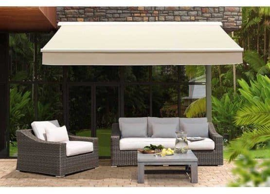20 Different Types Of Patio Umbrellas And Shade In 2020 Small Courtyard Gardens Garden Awning Patio Umbrellas